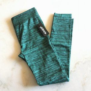 3/$50 New! Just Cozy fur lined legging 12-20 green
